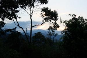 Sunset at Giobambua hotel