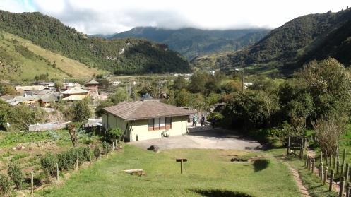 Fieldwork in 2012 near Papallacta (Ecuador).