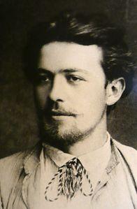 Chekhov in 1889