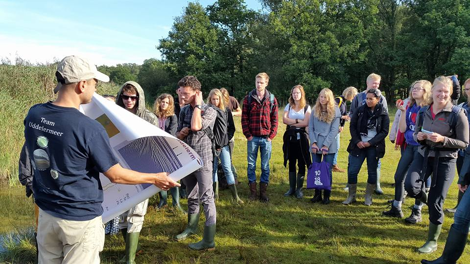 Palaeoecology at UvA and Twente 2015: Teaching and Learning (1/3)