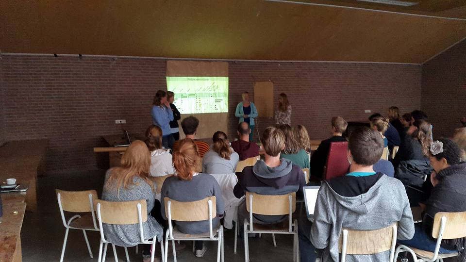 Palaeoecology at UvA and Twente 2015: Teaching and Learning (3/3)