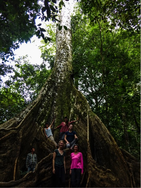 Our last day in the Amazon was spend with some of the local students, Louisa Fernando Gomez Correa and Mariana Gutierrez Munera.