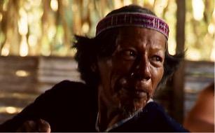 Victoriano, Haki, shaman and head of the Siona Nation in Cuyabeno. Photo: M. Bush.