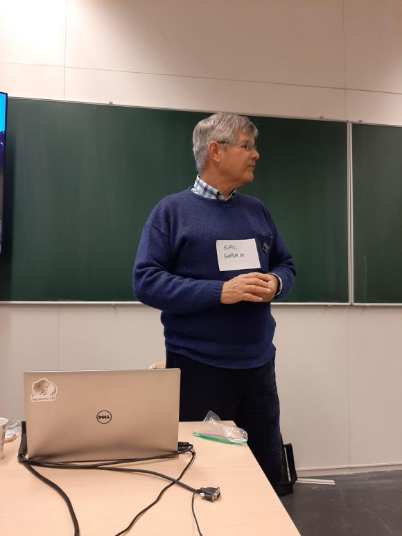 Eric Grimm (Amsterdam, January, 2020)