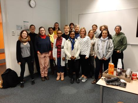 Participants of the African Pollen Database data steward training event (Amsterdam, Jan 2020)